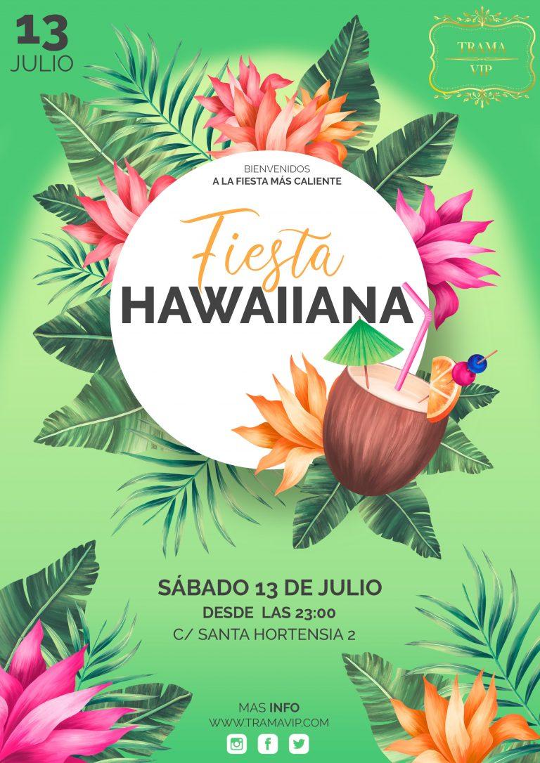 FIESTA HAWAIIANA – 13 JULIO 2019