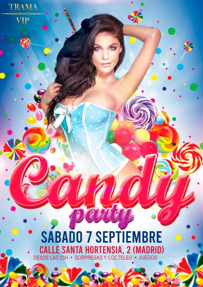 CANDY PARTY – SABADO 7 DE SEPTIEMBRE