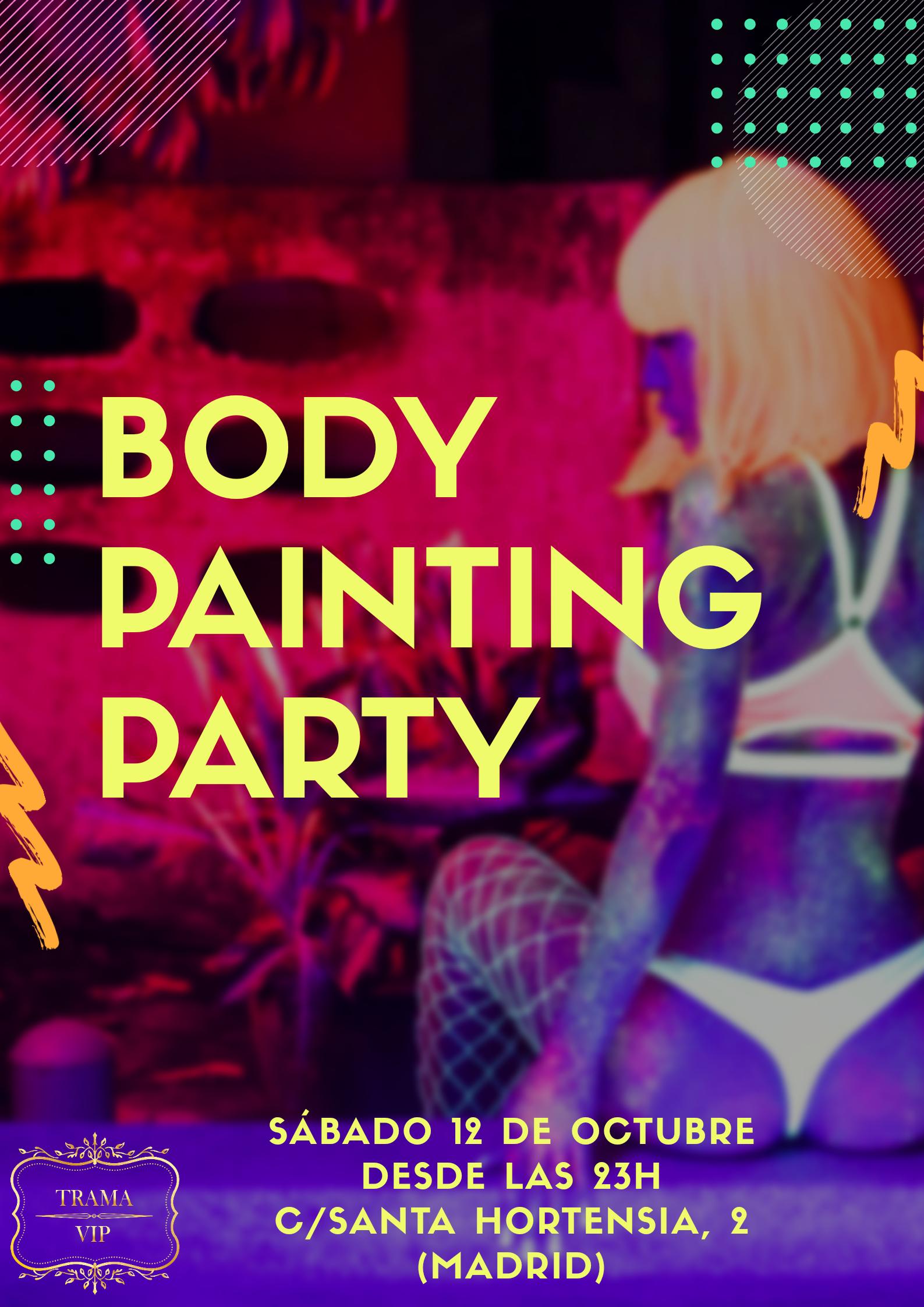 Body Painting Party – 12 de octubre 2019