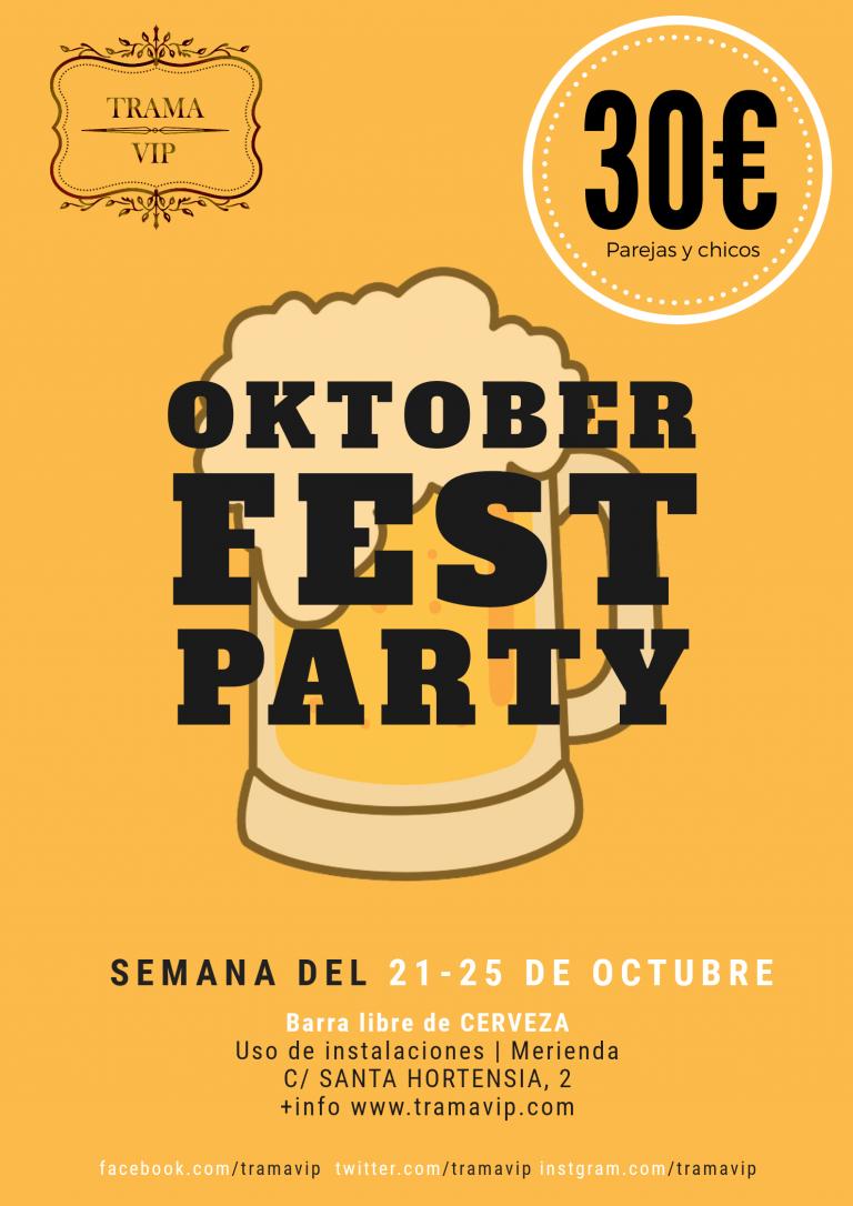 Oktoberfest Party – Semana del 22 de octubre