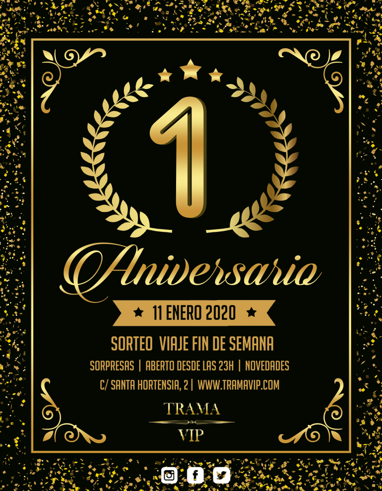 FIESTA DE ANIVERSARIO TRAMA VIP (local swinger Madrid)