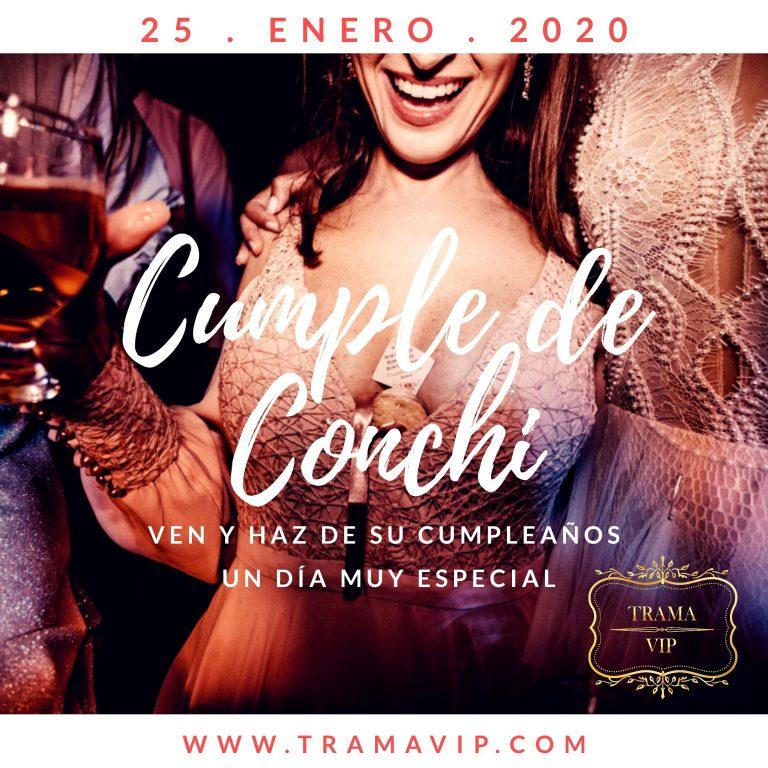 CUMPLE CONCHI – 25 ENERO