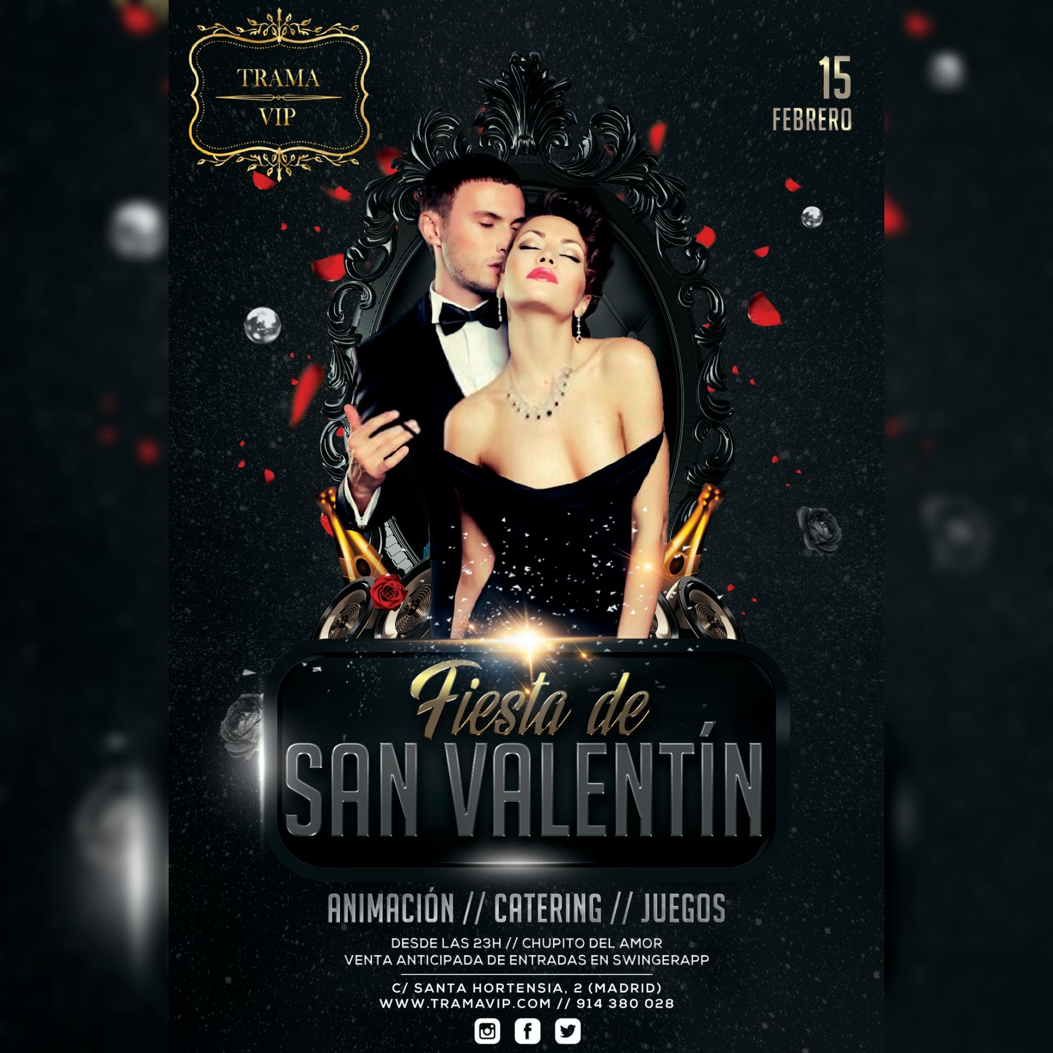 Fiesta San Valentín – 15 febrero