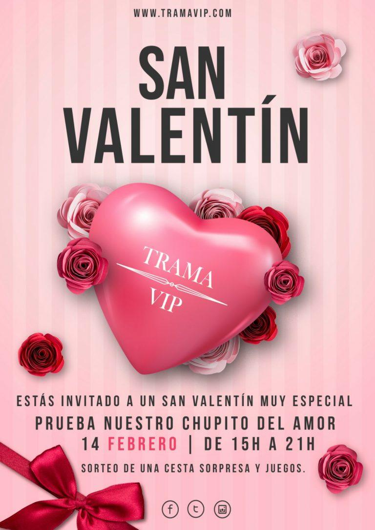 Celebra San Valentín en Trama Vip